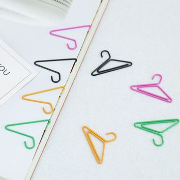 TUTU 12 PCS/lot Hangers Paper Clips Ideas Can Hang Card Pin Photos Of A Bookmark Office Stationery Accessories Products H0039