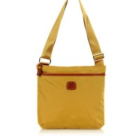 Bric's Designer Handbags X-Bag Gold Nylon Crossbody