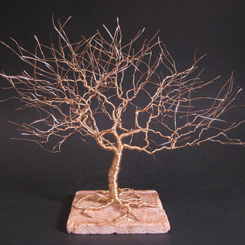 Gold Anniversary Gift Tree Of Life Sculpture