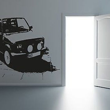 Niva Rally Trophy Off Road Wall Art Sticker Decal R020