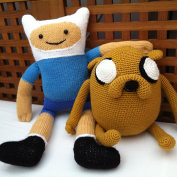 Finn and Jake from Adventure Time by Lcube on Etsy