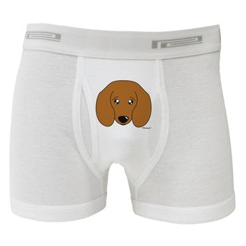 Cute Doxie Dachshund Dog Boxer Briefs  by TooLoud