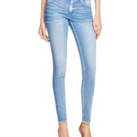True Religion Halle Skinny Jeans in Neptune Blue | Bloomingdales's