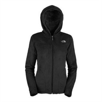 The North Face Oso Hoodie Womens Jacket Large TNF Black