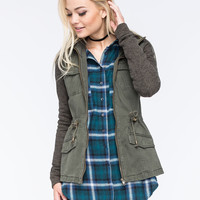 FULL TILT Marled Womens Anorak Jacket | Outdoor Wanderlust