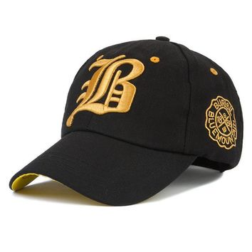 Sports Hat Cap trendy  Classic Boston red LB embroidery baseball hat snapback hat fashion youth outdoor  couple street hat KO_16_1
