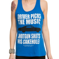 Supernatural Driver Picks The Music Girls Tank Top