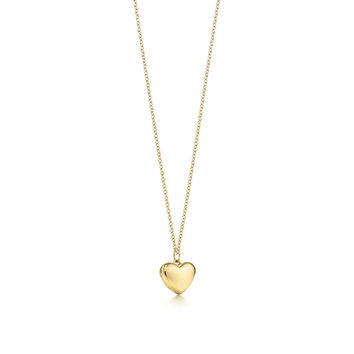 Tiffany & Co. - Heart locket pendant