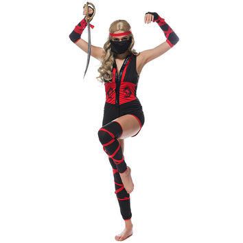 Ninja Cosplay Anime Cosplay Apparel Holloween Costume [9220885700]