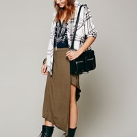 Free People Taxi Cab Knit Skirt