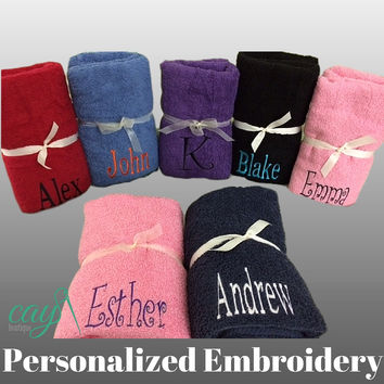 Personalized Bath/Beach Towels