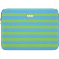"kate spade new york - Candy Stripe Shamrock/Firoza Sleeve for 13"" Apple® MacBook® - Green"