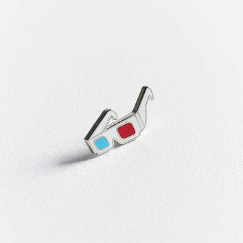 Yesterdays 3D Glasses Pin | Urban Outfitters