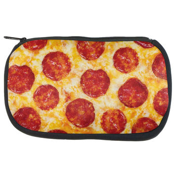 Pepperoni Pizza Makeup Bag