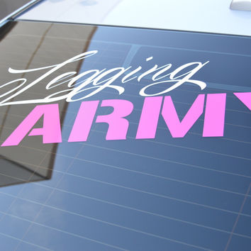 Official Legging Army Decal - 36''