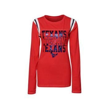CUPUPS Houston Texans NFL Womens Baby Jersey Long Sleeve Crewneck