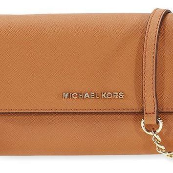 DCCKW7H MICHAEL Michael Kors Women's Jet Set Large Phone Cross Body Bag