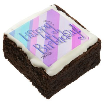 Happy Birthday: Brownies