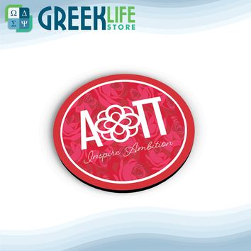 Alpha Omicron Pi Round Coasters (Set of 4 coasters)