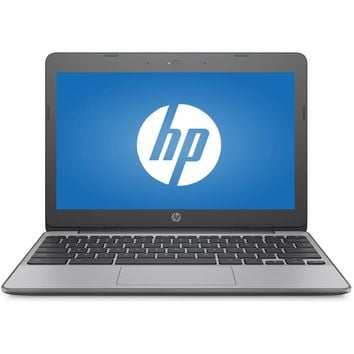 "Refurbished HP 11-v010wm 11.6"" Chromebook Intel Celeron 1.60GHz"