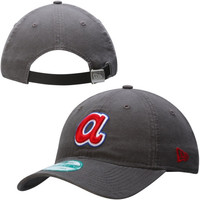 Atlanta Braves New Era 9Forty Winter Shoreline Adjustable Hat – Graphite