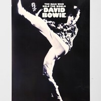 David Bowie Man Who Sold The World Poster