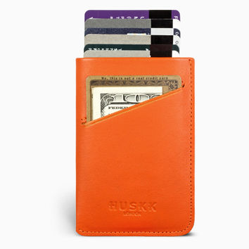 Card Sleeve Case / Orange