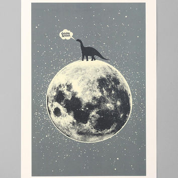 Urban Outfitters - Aesthetic Apparatus For Society6 Lunasaurus Art Print