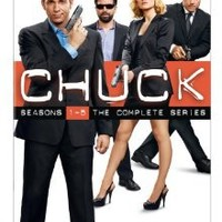 Chuck: Season One - Season Five (DVD)