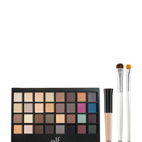 E.L.F. Eyes Lips Face 32-Color All About Eyes Palette Set
