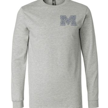 Official NCAA University of Mississippi Rebels Ole Miss Hotty Toddy Long Sleeve T-Shirt - 67LOLM