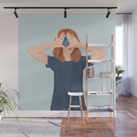 I See Stars Wall Mural by marylobs