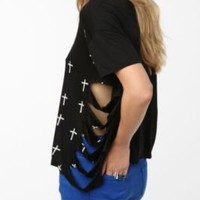 Daydreamer LA Scattered Crosses Tee