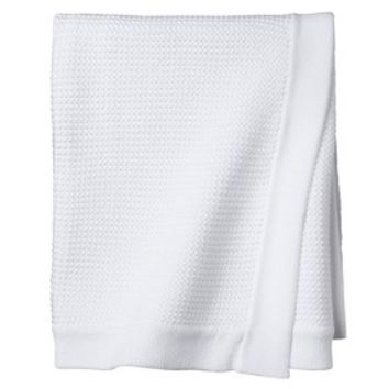 Circo® Cable Knit Blanket - White
