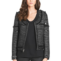 Laya Embellished Tweed Jacket