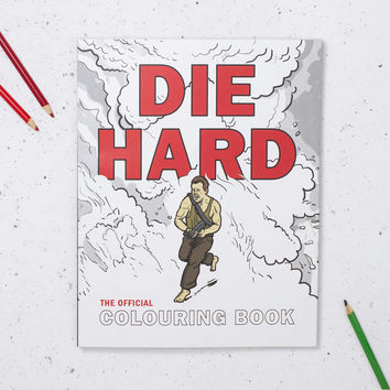Die Hard The Official Colouring Book | FIREBOX