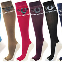 Saddles Tack Horse Supplies - ChickSaddlery.com TuffRider CoolMax Ladies Boot Sock