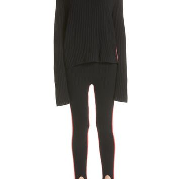 CALVIN KLEIN 205W39NYC Side Stripe Wool Blend Sweater | Nordstrom
