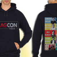 Magcon Boys Name Collage American populer hoodie mens and hoodie women