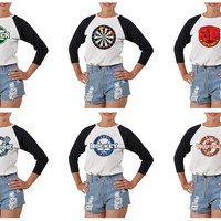 Women Sport Stamp 1 Printed Cotton T-shirt WTS_03