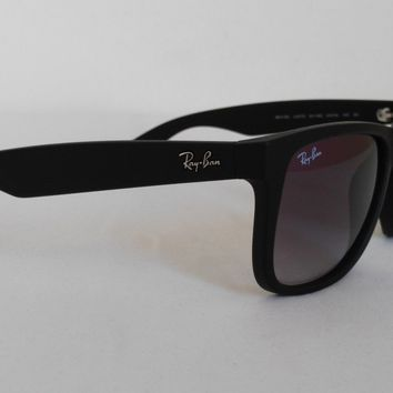 Cheap Ray-Ban RB4165 Justin 601/8G Matte Black Designer Sunglasses outlet