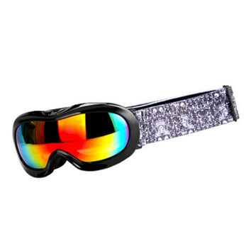 Ski Glasses Myopia Googles Child XH-118    black bright