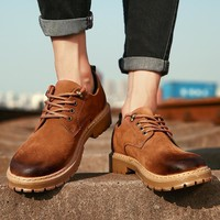 Fashion England Style Men Casual Thick Crust Training Shoes [257818361885]