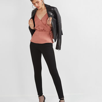 Mid Rise Stretch+ Performance Twill Leggings