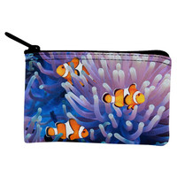 Clownfish Sea Anemone Coin Purse