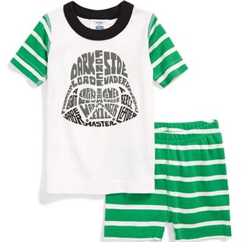 Toddler Boy's Hanna Andersson 'Star Wars' Organic Cotton Two-Piece Pajamas