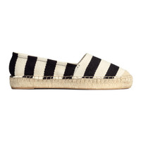 H&M Striped Espadrilles $29.99