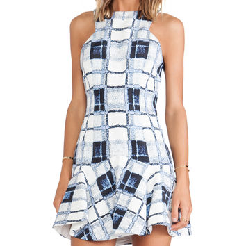 Finders Keepers Take Me Out Dress in Blue
