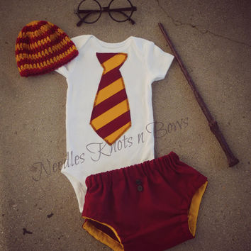 9cd59204d Baby Boys Harry Potter Outfit, Newborn Boys Coming Home Hospital