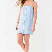 UO Straight-Neck Button-Down Dress | Urban Outfitters